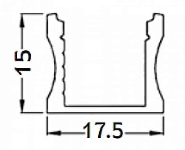 פרופיל LED S1.5