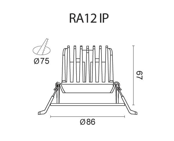 נוק RA12 IP